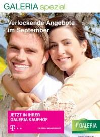 Telekom Shop-in-Shop bei Galeria Kaufhof Verlockende Angebote im September September 2015 KW37