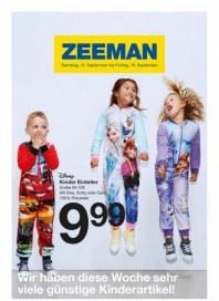 Zeeman Wir haben diese Woche sehr viele günstige Kinderartikel September 2015 KW37