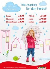 BabyOne Tolle Angebote: Raus in den Herbst September 2015 KW38