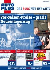 AUTOplus Vor-Saison-Preise + gratis Neueinlagerung September 2015 KW38
