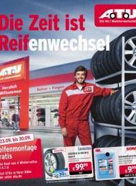A.T.U Auto Teile Unger Die Zeit ist Reifenwechsel September 2015 KW39