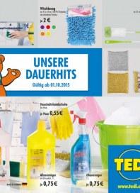 Tedi GmbH & Co. KG Unsere Dauerhits Oktober 2015 KW40