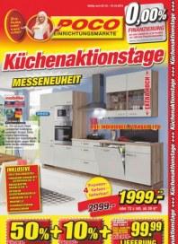 POCO Küchenaktionstage Oktober 2015 KW40