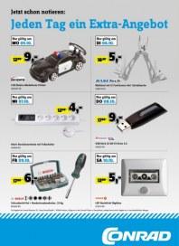 Conrad Electronic Jeden Tag ein Extra-Angebot Oktober 2015 KW41