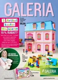 Galeria Kaufhof Spielwaren Angebote Oktober 2015 KW41