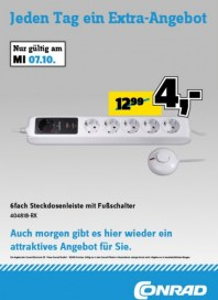 Conrad Electronic Jeden Tag ein Extra-Angebot Oktober 2015 KW41 2