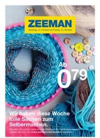 Zeeman Wir haben diese Woche tolle Sachen zum Selbermachen Oktober 2015 KW41