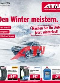 A.T.U Auto Teile Unger Den Winter meistern Oktober 2015 KW42