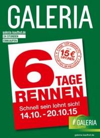 Galeria Kaufhof 6-Tage-Rennen Oktober 2015 KW42
