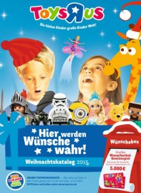 Toys''R''Us Weihnachtskatalog2015 Oktober 2015 KW42