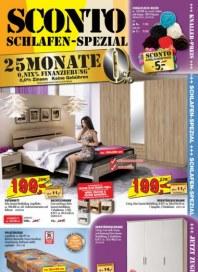 Sconto Schlafen-Spezial Oktober 2015 KW43