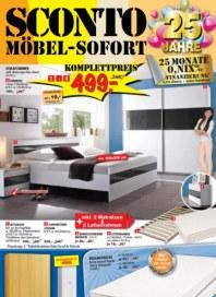 Sconto Möbel sofort Oktober 2015 KW43