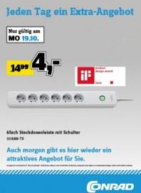 Conrad Electronic Jeden Tag ein Extra-Angebot Oktober 2015 KW43 6