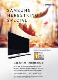 Samsung Samsung Herbstkino Special Oktober 2015 KW43