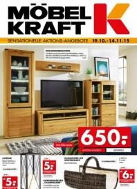 Möbel Kraft Sensationelle Aktions-Angebote Oktober 2015 KW43