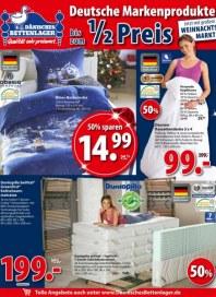 Dänisches Bettenlager Deutsche Markenprodukte Oktober 2015 KW43