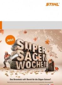 Stihl Super Sägen Wochen November 2015 KW44