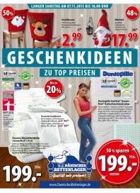 Dänisches Bettenlager Geschenkideen November 2015 KW44