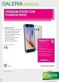 Telekom Shop-in-Shop bei Galeria Kaufhof Premium Phone zum starken Preis November 2015 KW44