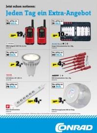 Conrad Electronic Jeden Tag ein Extra-Angebot November 2015 KW45