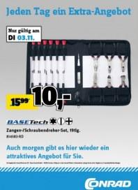 Conrad Electronic Jeden Tag ein Extra-Angebot November 2015 KW45 1