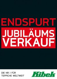 Teppich Kibek Endspurt Jubiläumsverkauf November 2015 KW45