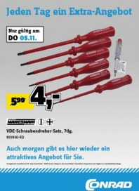 Conrad Electronic Jeden Tag ein Extra-Angebot November 2015 KW45 3