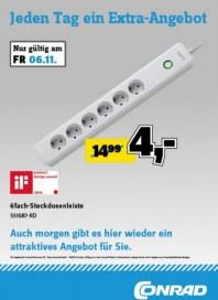 Conrad Electronic Jeden Tag ein Extra-Angebot November 2015 KW45 4