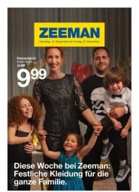 Zeeman Festliche Kleidung für die ganze Familie November 2015 KW46