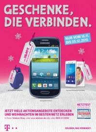 Telekom Shop Geschenke, die verbinden November 2015 KW47