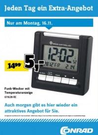 Conrad Electronic Jeden Tag ein Extra-Angebot November 2015 KW47 6