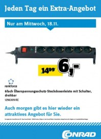 Conrad Electronic Jeden Tag ein Extra-Angebot November 2015 KW47 8