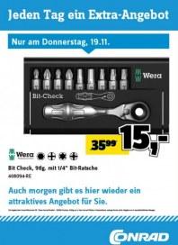 Conrad Electronic Jeden Tag ein Extra-Angebot November 2015 KW47 9