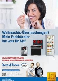 Dreetz & Firchau Weihnachts-Überraschungen? Mein Fachhändler hat was für Sie November 2015 KW48