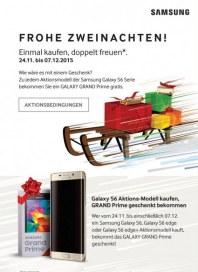 Samsung Frohe Zweinachten November 2015 KW48