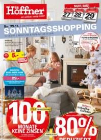 Höffner Höffner ... Wo Wohnen wenig kostet November 2015 KW48 8