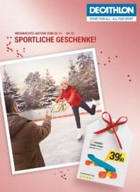 DECATHLON Sportliche Geschenke November 2015 KW48