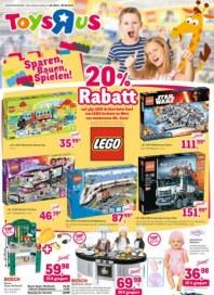 Toys''R''Us Sparen, Bauen, Spielen November 2015 KW48