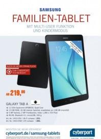 Cyberport Samsung Familien-Tablet Dezember 2015 KW49