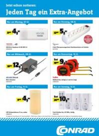 Conrad Electronic Jeden Tag ein Extra-Angebot Dezember 2015 KW50