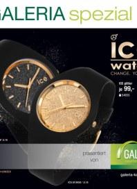 Galeria Kaufhof Galeria spezial Ice-Watch Dezember 2015 KW50