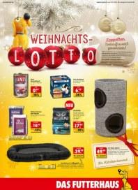 Das Futterhaus Weihnachts-Lotto Dezember 2015 KW50