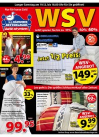 Dänisches Bettenlager Jetzt 1/2 Preis Dezember 2015 KW50