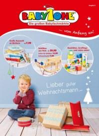 BabyOne Lieber guter Weihnachtsmann Dezember 2015 KW51