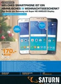 Saturn Welches Smartphone ist ein himmlisches Weihnachtsgeschenk Dezember 2015 KW51