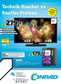Conrad Electronic Technik-Kracher zu Knaller-Preisen Dezember 2015 KW52