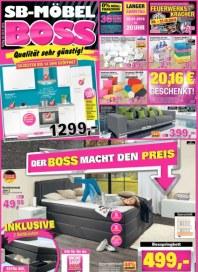 SB Möbel Boss Der Boss macht den Preis Dezember 2015 KW52