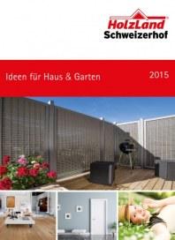 HolzLand Schweizerhof Ideen für Haus & Garten 2015 März 2016 KW09