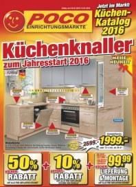 POCO Küchenknaller zum Jahresstart 2016 Januar 2016 KW53