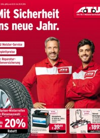 A.T.U Auto Teile Unger Mit Sicherheit ins neue Jahr Januar 2016 KW53